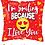 Thumbnail: Valentine's Day Balloon Bouquet, with 9 Balloons & Cinnamon Rolls