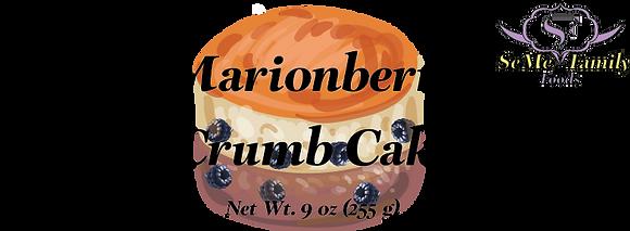 Marionberry Crumb Cake