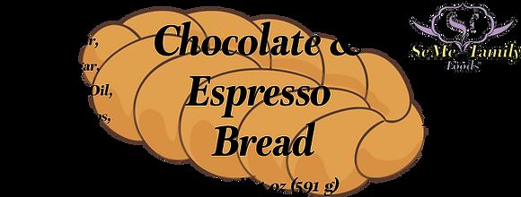 Chocolate and Espresso Bread