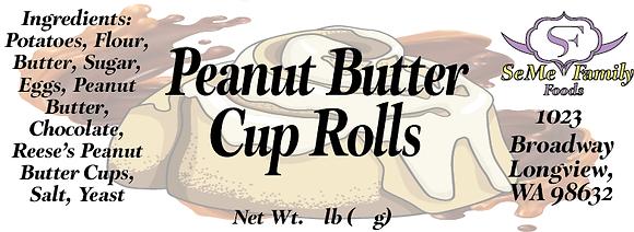 Peanut Butter Cup Rolls