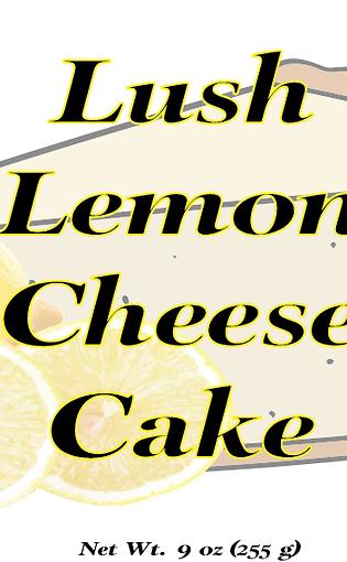 Lush Lemon Cheesecake