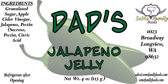 Dad's Jalapeno Jelly