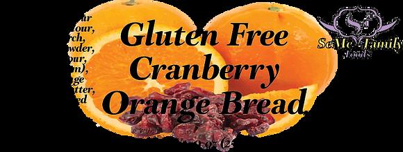 Gluten Free Cranberry Orange