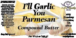I'll Garlic, You Parmesan