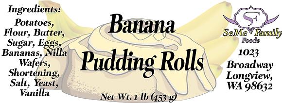 Banana Pudding Rolls
