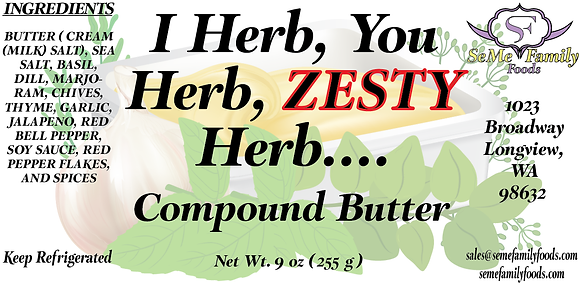 I Herb, You Herb, Zesty Herb