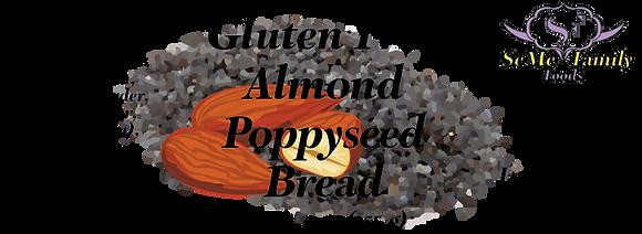 Gluten Free Almond Poppy Seed