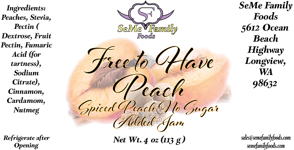 Free to Have Peach