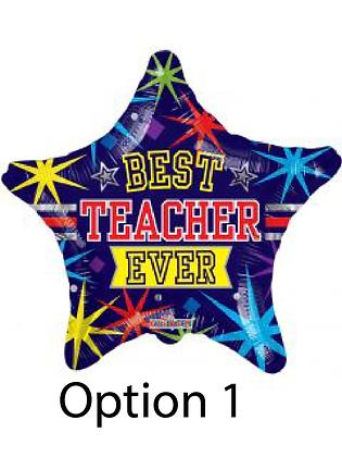 Teacher Appreciation Balloon Bouquet