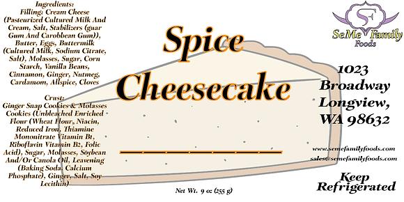 Spice Cheesecake