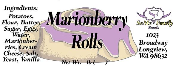 Marionberry Rolls