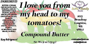 I love you from my head to my tomatoes