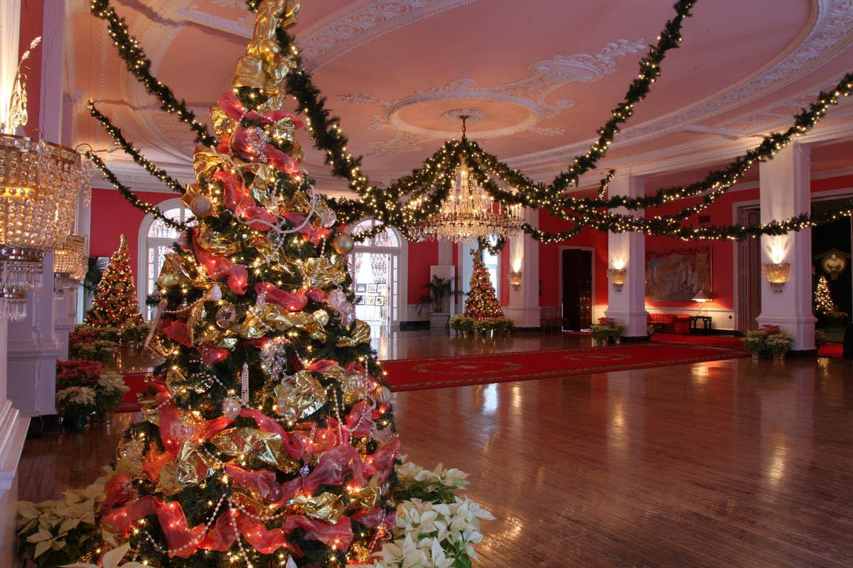Room Set up for Christmas Event