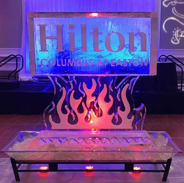 Hilton Ice Sculpture