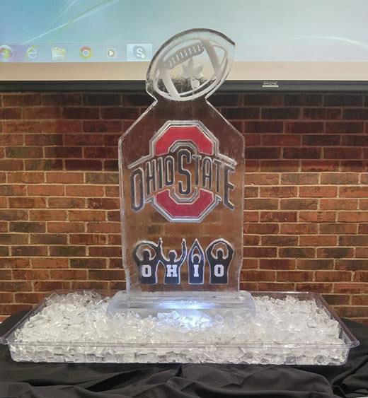 Ohio State Ice Sculpture