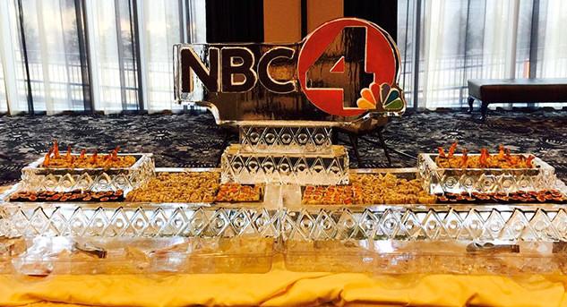 NBC4 Food Ice Display