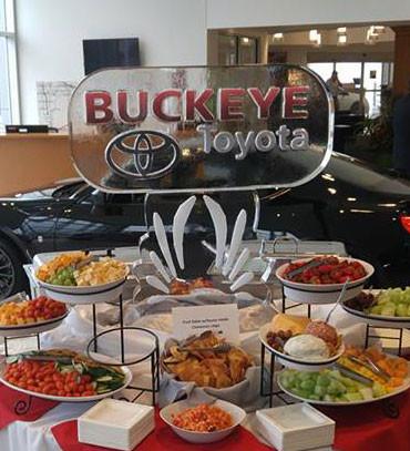 Buckeye Toyota Ice Sculpture
