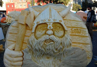 Pumpkin Carving of Viking
