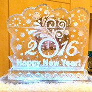 Happy-New-Year-Ice-Sculpture-2016-with-C