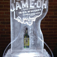 Ice Sculpture Double Tube Luge