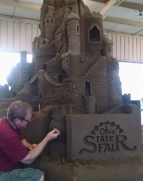 Ohio State Fair Sand Sculpture