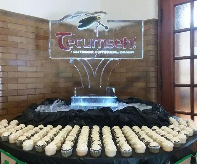 Ice Sculpture for Tecumseh!