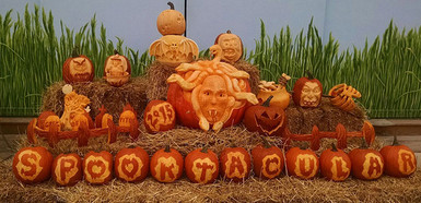 Masterpeice Pumpkin Display
