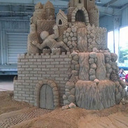 Sand-Sculpture-Ohio-State-Fair-Rocks-and