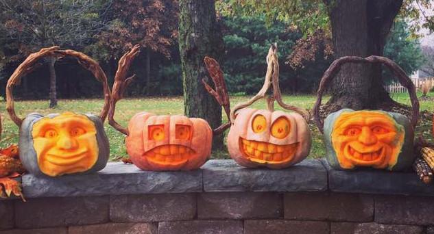 O-H-I-O Pumpkin Carving