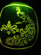 Peacock Watermelon Carving