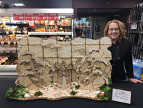 Matzo Sculpture