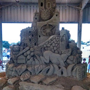 Sand-Sculpture-Ohio-State-Fair-CBJ-Logo.