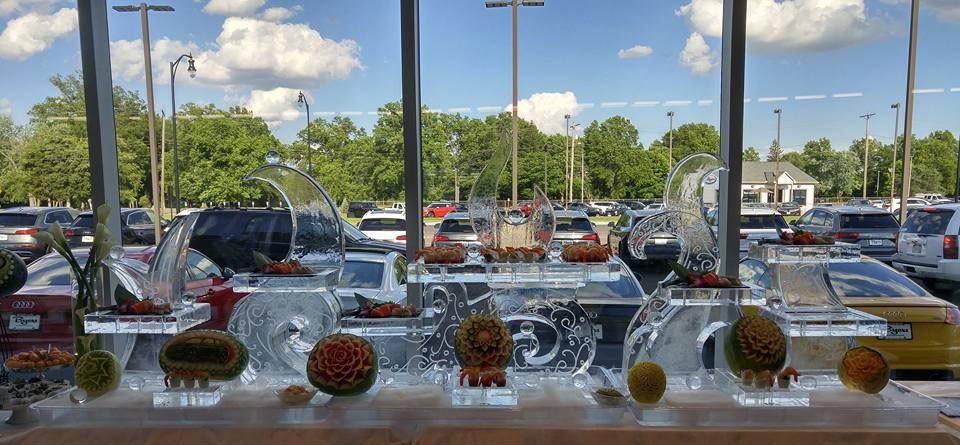 Food Ice Display