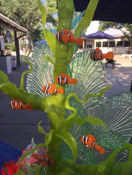 Pulled Candy Sculpture