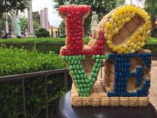 Candy Love Sculpture