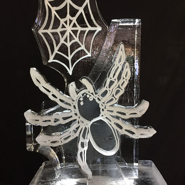 Spider and Web Ice Luge