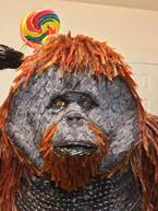 Orangutan Candy Sculpture