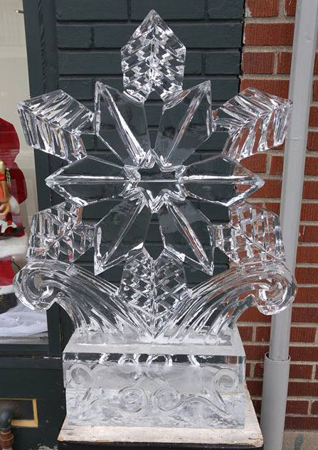 Ice Sculpture Snowflake