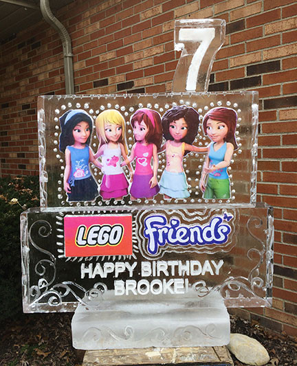 Ice Sculpture Lego and Friends
