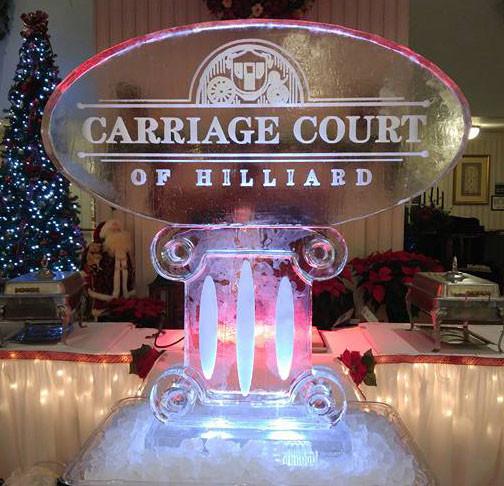 Corporate Ice Sculpture