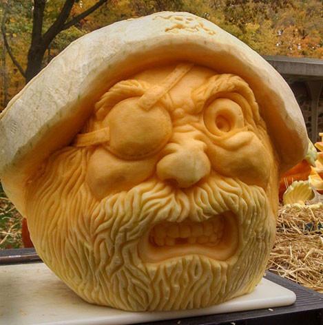 Pirate Pumpkin Carving
