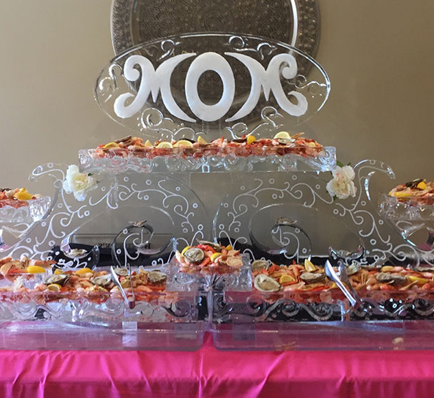 Food Ice Display for Mother's Day