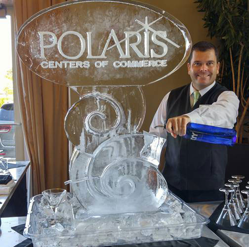 Ice Sculpture Tube Luge
