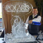 Ice Sculpture Tube Luge