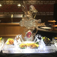 Food Ice Display with Bunny