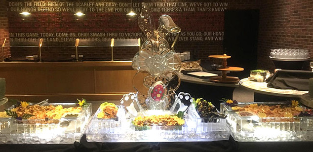 Food Ice Display with Bunny