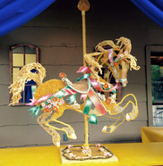 Pasta Horse Sculpture