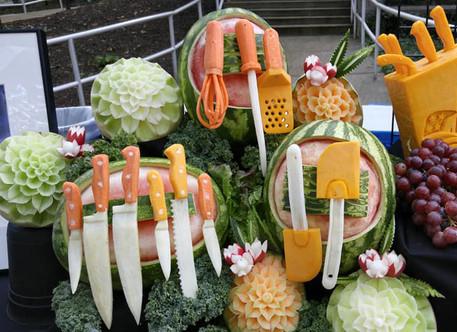 Food display for Taste the Future