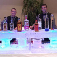 Table Top Ice Bar with Ice Luges