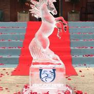 Kentucky Derby 3D Ice Sculpture